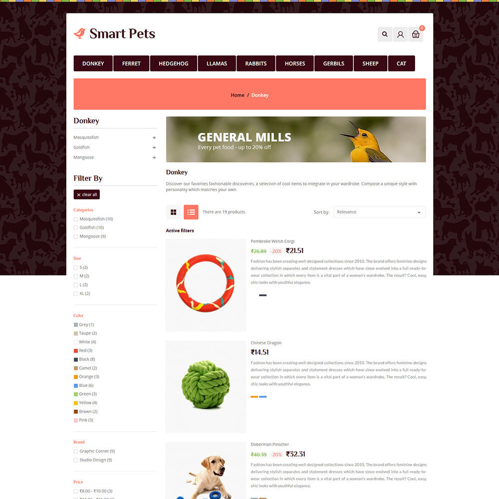 theme - Zwierzęta - Smart Animal - Pet Food Store - 4