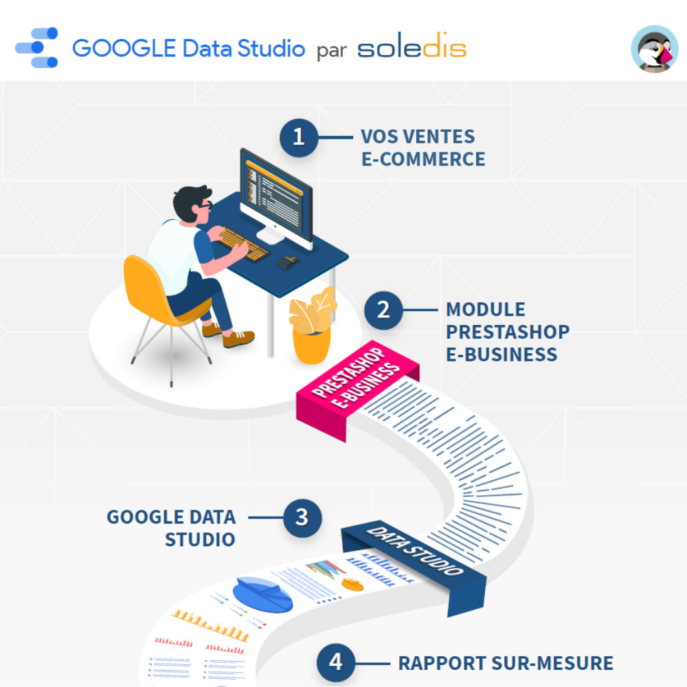 module - Informes y Estadísticas - Google Data Studio connector - 4