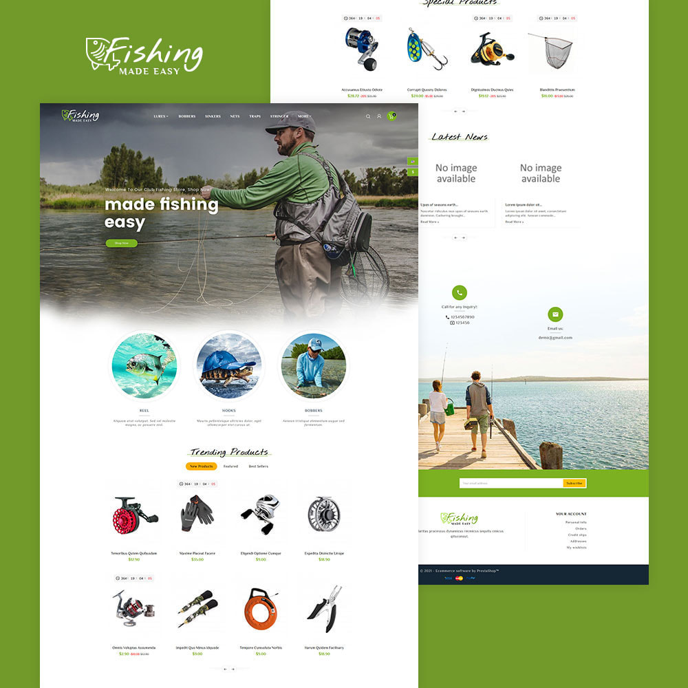 theme - Sports, Activities & Travel - Fishing Equipment - 2