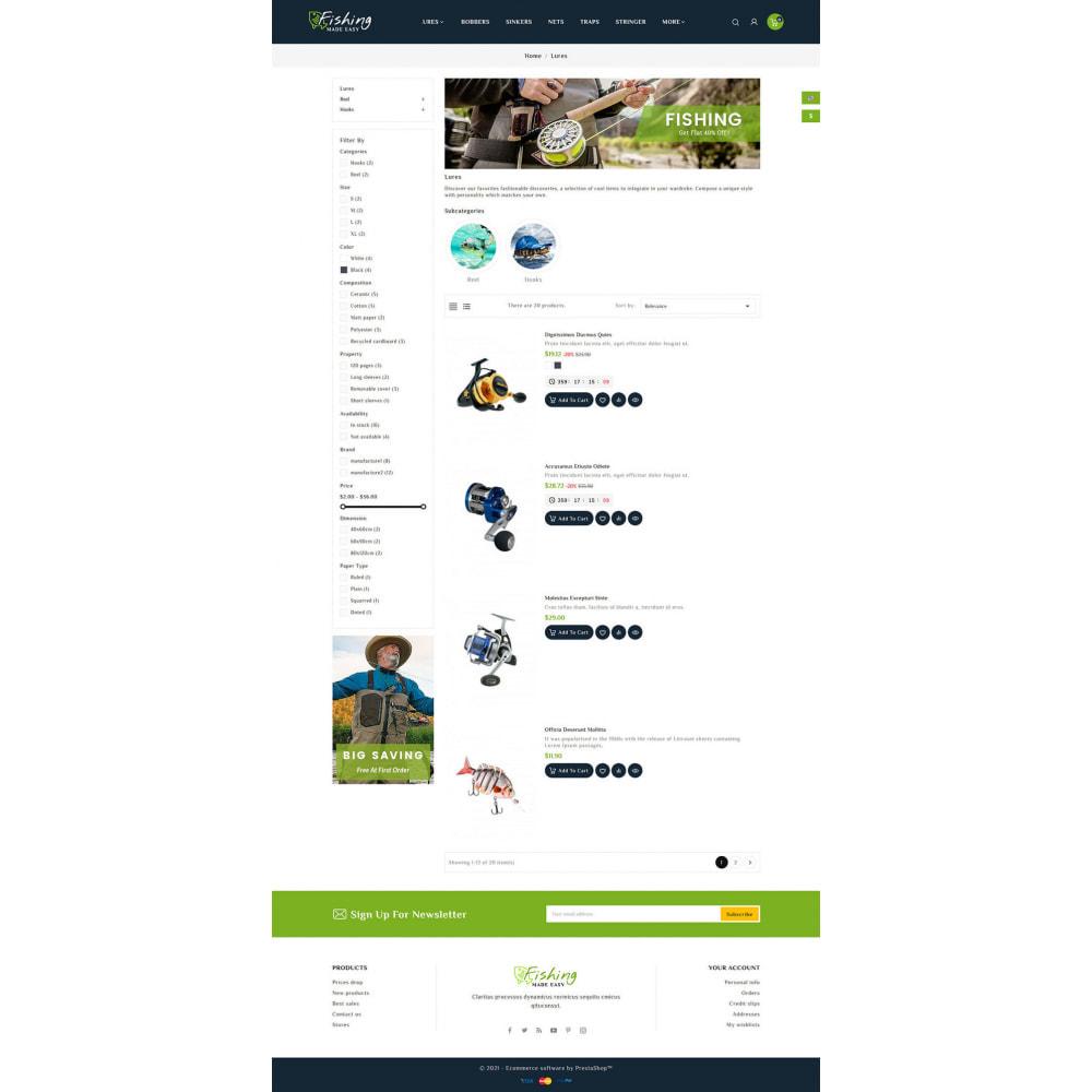theme - Sports, Activities & Travel - Fishing Equipment - 4