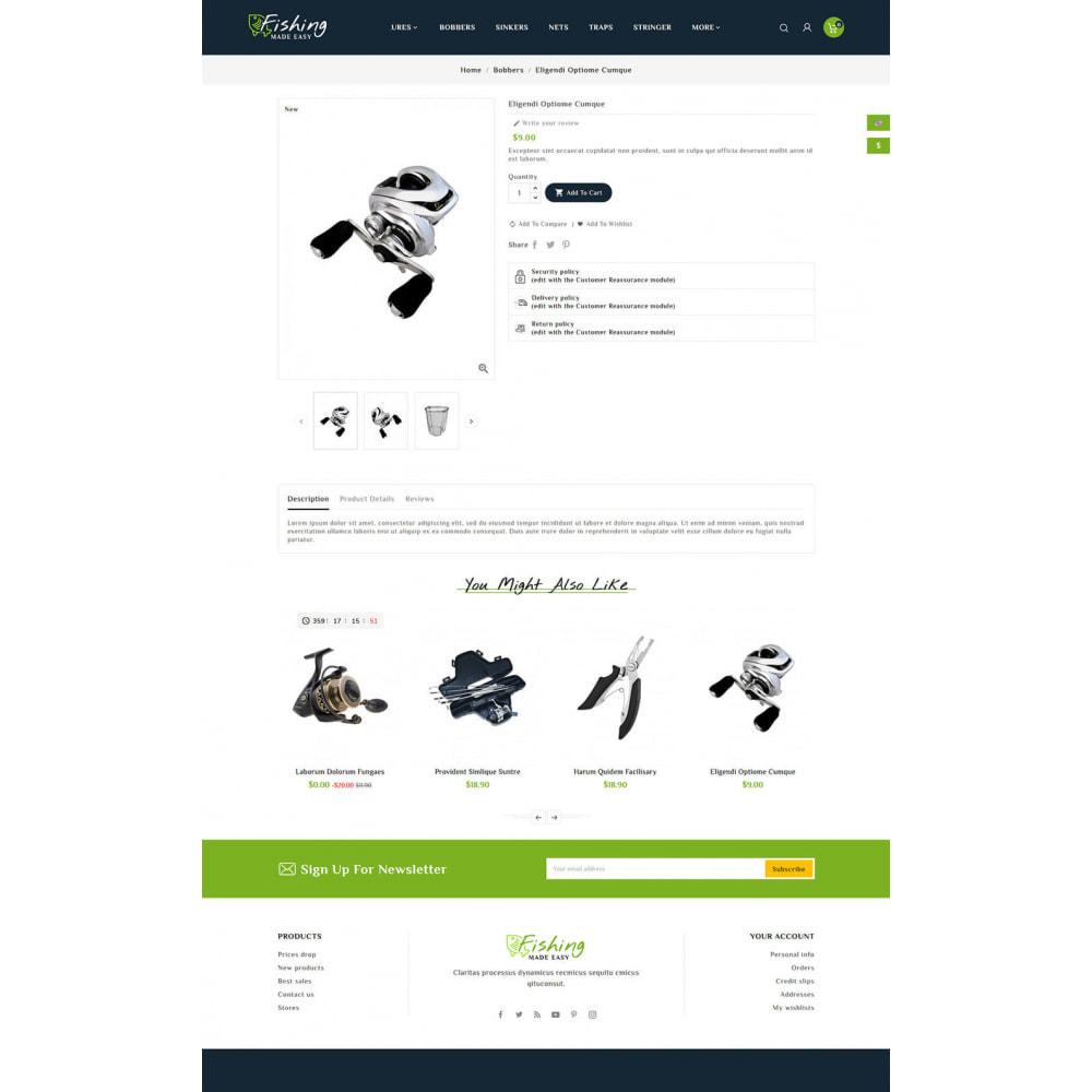 theme - Sport, Aktivitäten & Reise - Fishing Equipment - 5