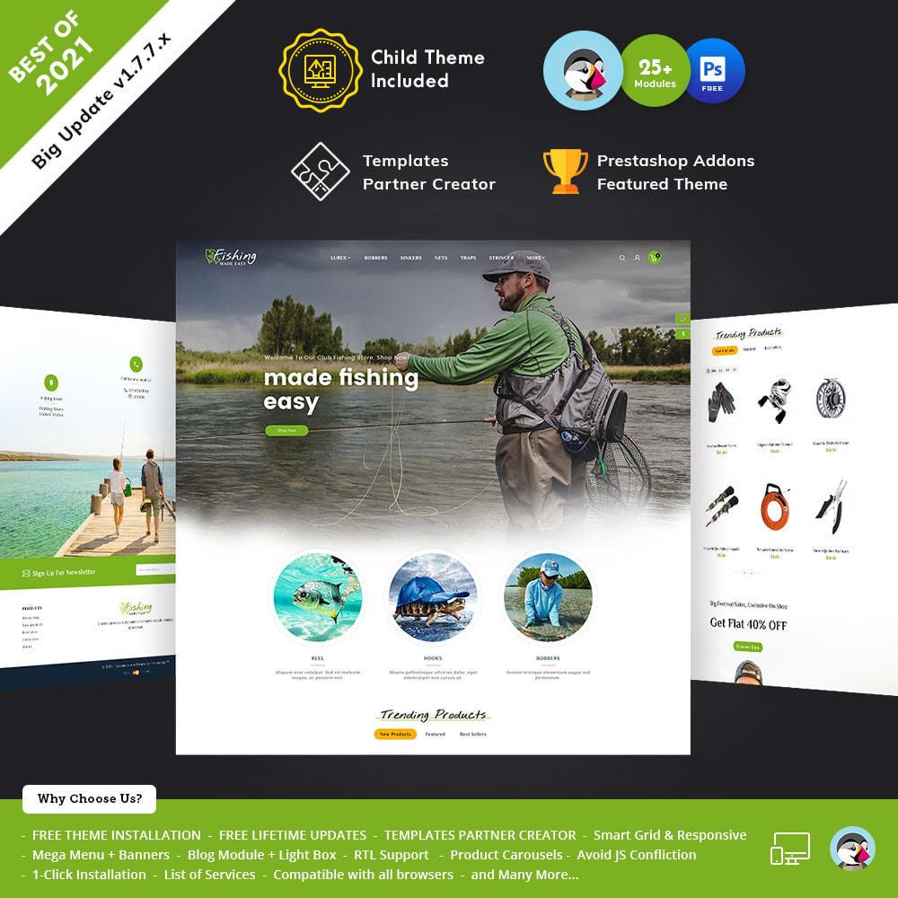 theme - Sport, Activiteiten & Reizen - Fishing Equipment - 1