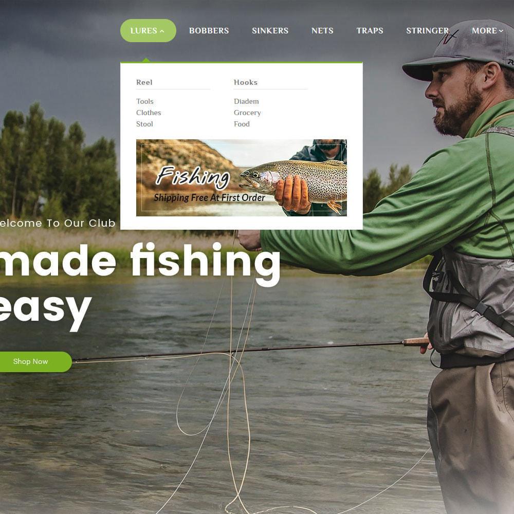 theme - Спорт и Путешествия - Fishing Equipment - 9