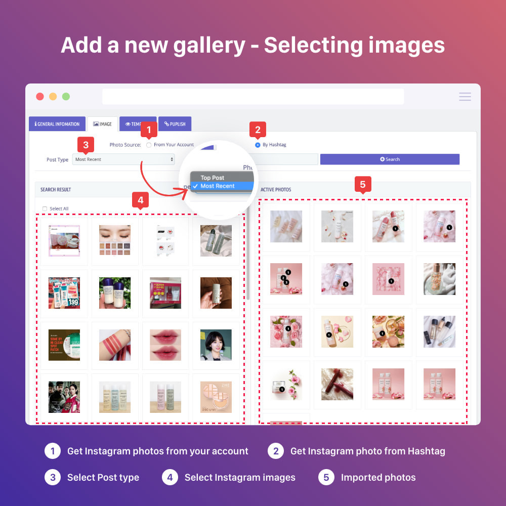module - Sliders & Galeries - Shoppable Instagram Feed: carousel, slider, gallery - 10