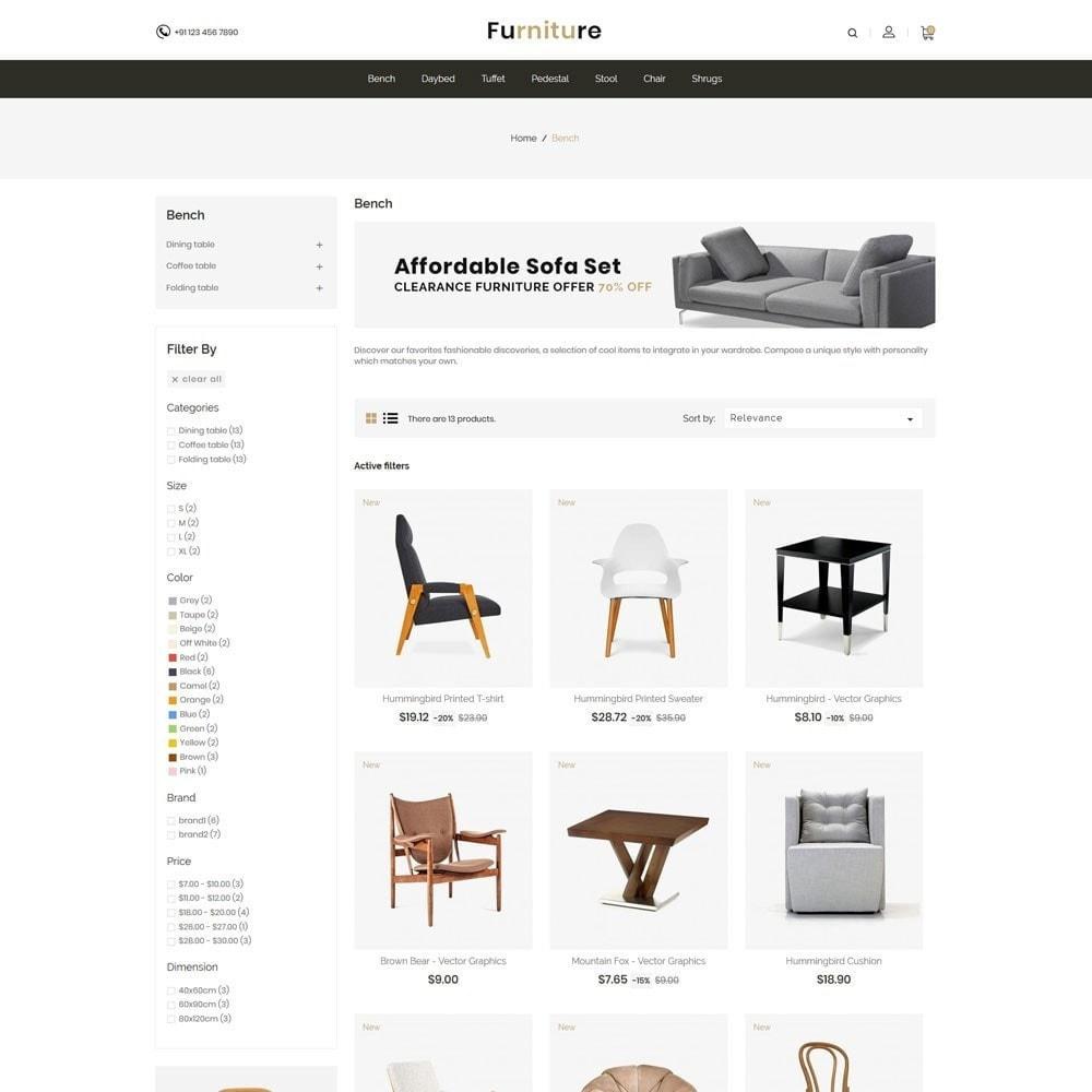 theme - Dom & Ogród - Interior Designer - Furniture Wood Store - 4