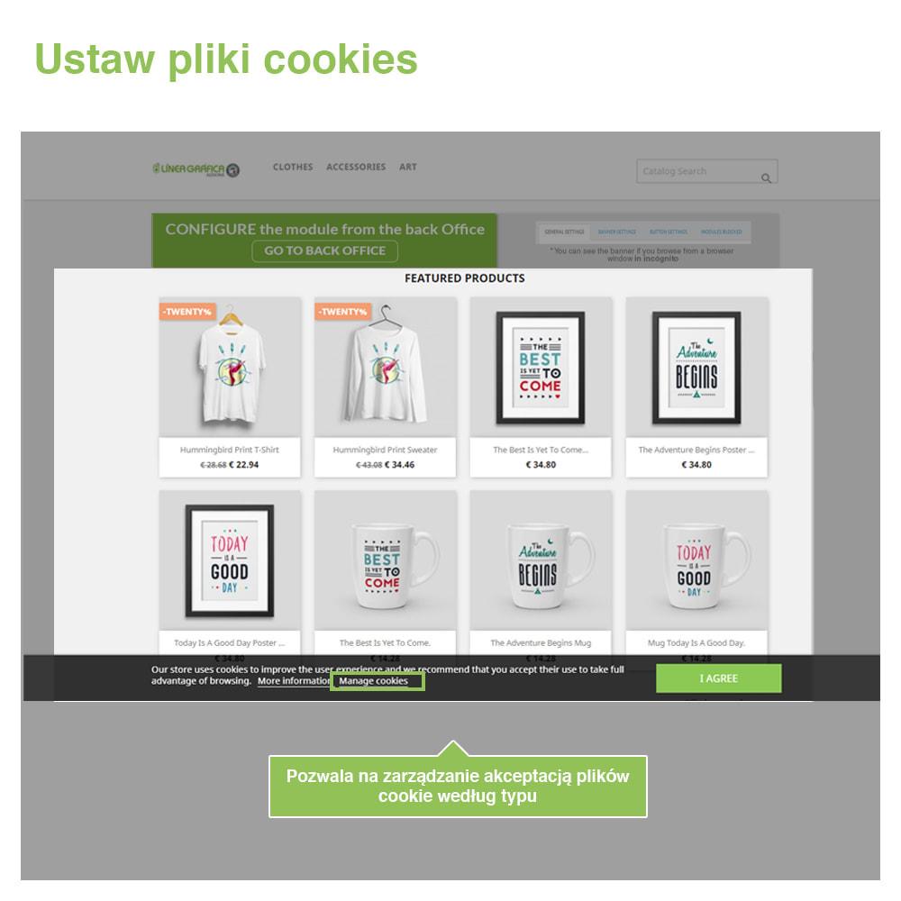 module - Wzmianki prawne - Polityka Cookies RODO (Ostrzeżenie + Blokada)–Nowy 2020 - 4