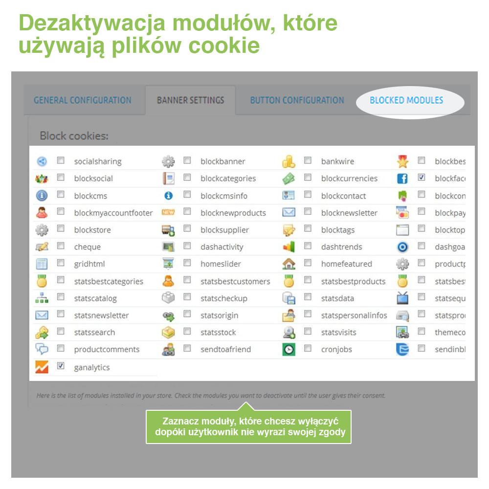 module - Wzmianki prawne - Polityka Cookies RODO (Ostrzeżenie + Blokada)–Nowy 2020 - 17
