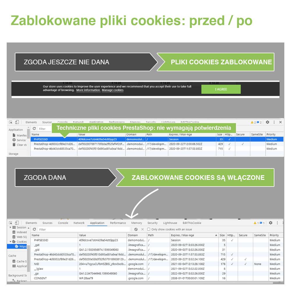 module - Wzmianki prawne - Polityka Cookies RODO (Ostrzeżenie + Blokada)–Nowy 2020 - 18