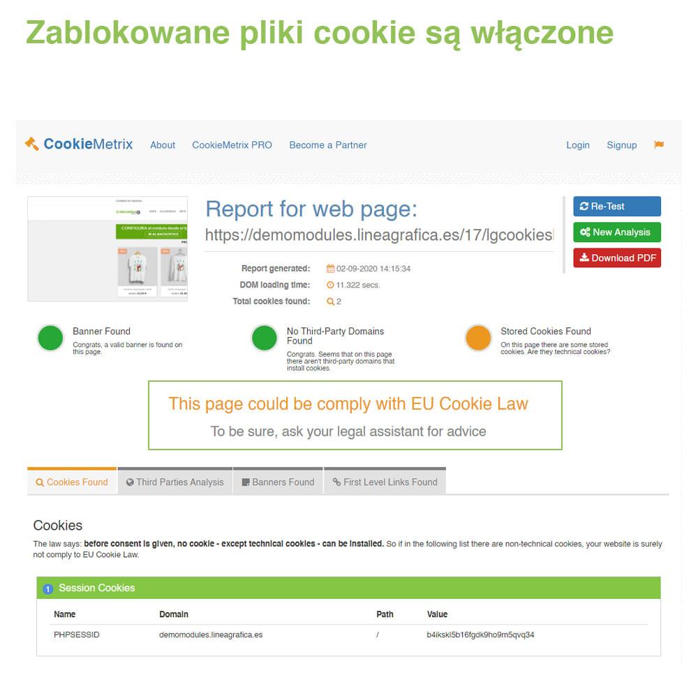 module - Wzmianki prawne - Polityka Cookies RODO (Ostrzeżenie + Blokada)–Nowy 2020 - 19