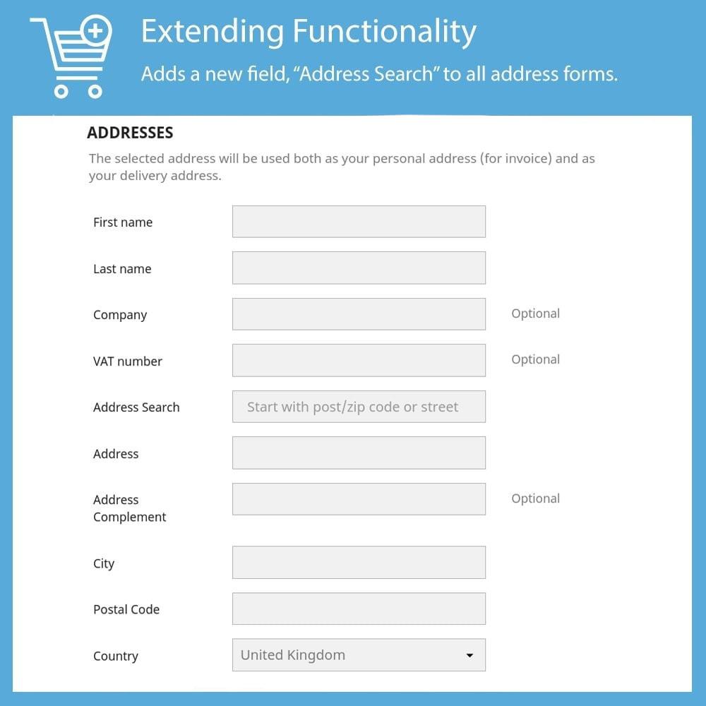 module - Inscription & Processus de commande - Fetchify - 2