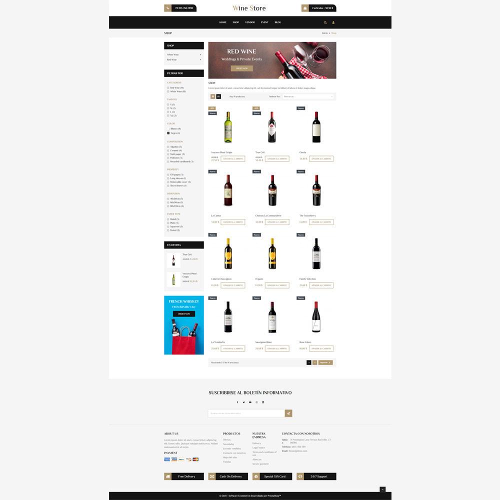 theme - Bebidas y Tabaco - Tienda de vino - 3