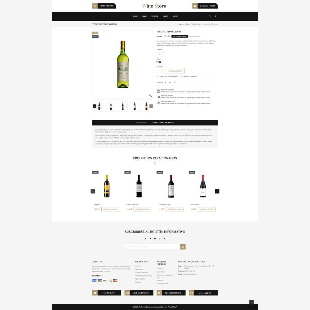 theme - Bebidas y Tabaco - Tienda de vino - 4