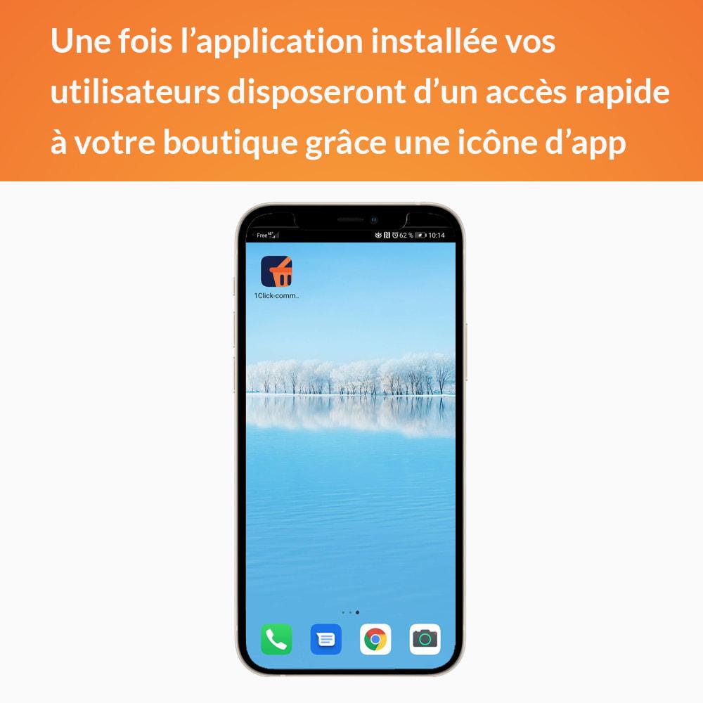 module - Mobile - Progressive Web App - Sans abonnement - 3