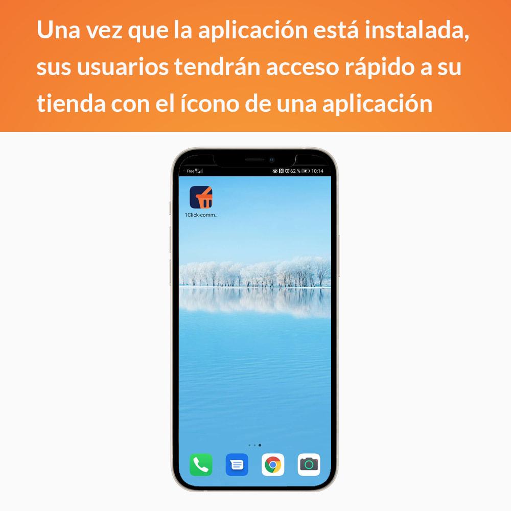 module - Dispositivos móviles - Progressive Web App - Sin suscripción - 3