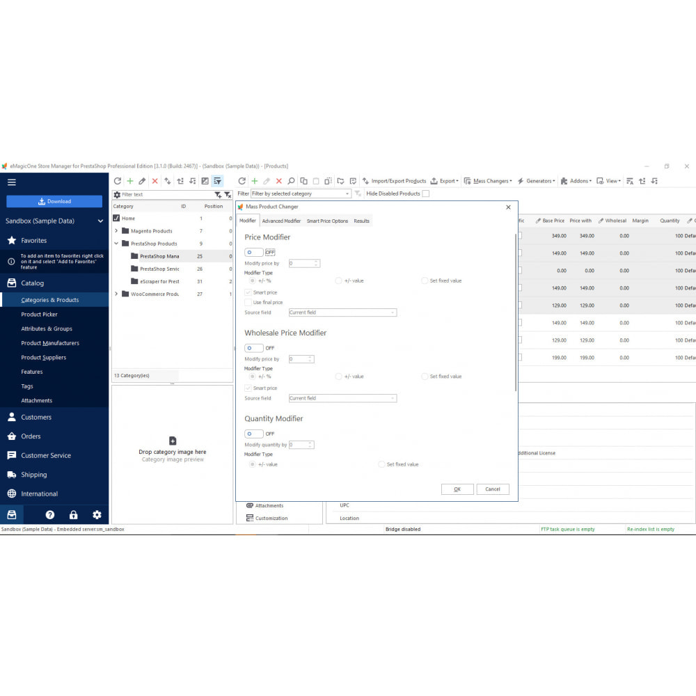 module - Third-party Data Integration (CRM, ERP...) - Store Manager - 4