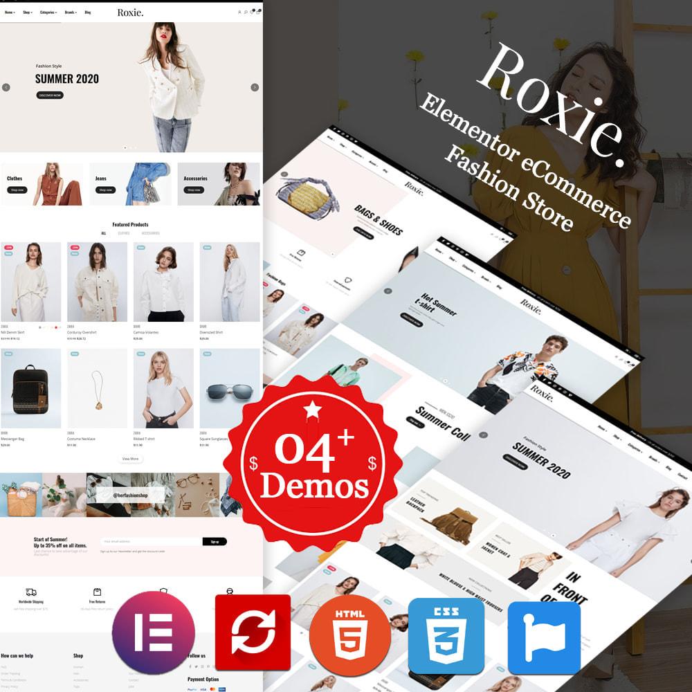theme - Moda y Calzado - Roxie Minimal Fashion Store - Elementor eCommerce - 1