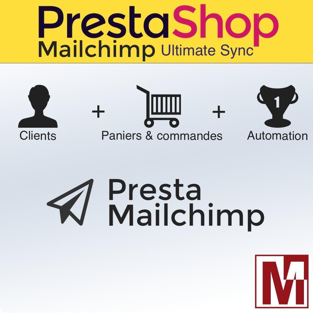 module - Newsletter & SMS - Synchronisation ultime de Prestashop© & MailChimp© - 1