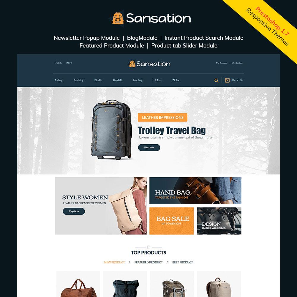 theme - Moda y Calzado - Sansation Bag - Tienda de moda de bolsos de cuero - 1
