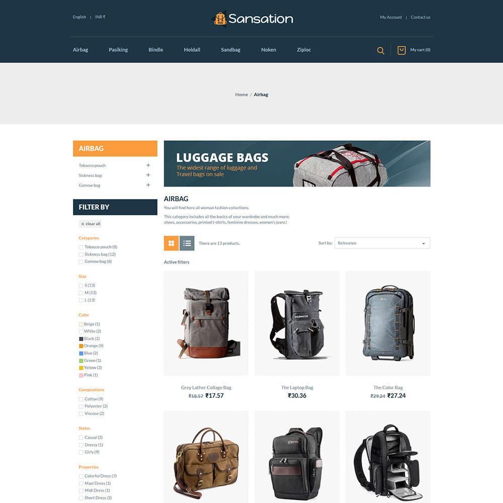 theme - Fashion & Shoes - Sansation Bag - Handbag Leather Fashion Store - 3