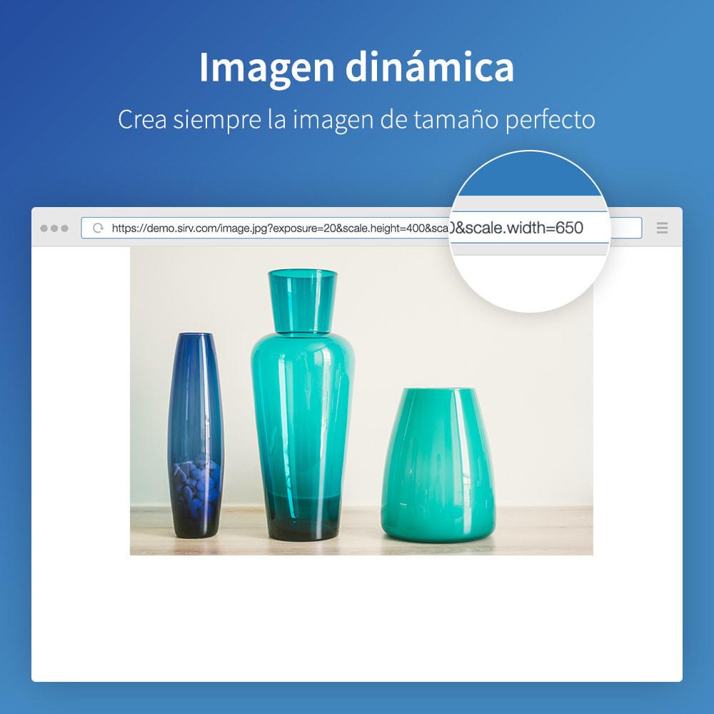 module - Rendimiento del sitio web - Sirv CDN y optimización: imágenes, video, giro 360 - 2