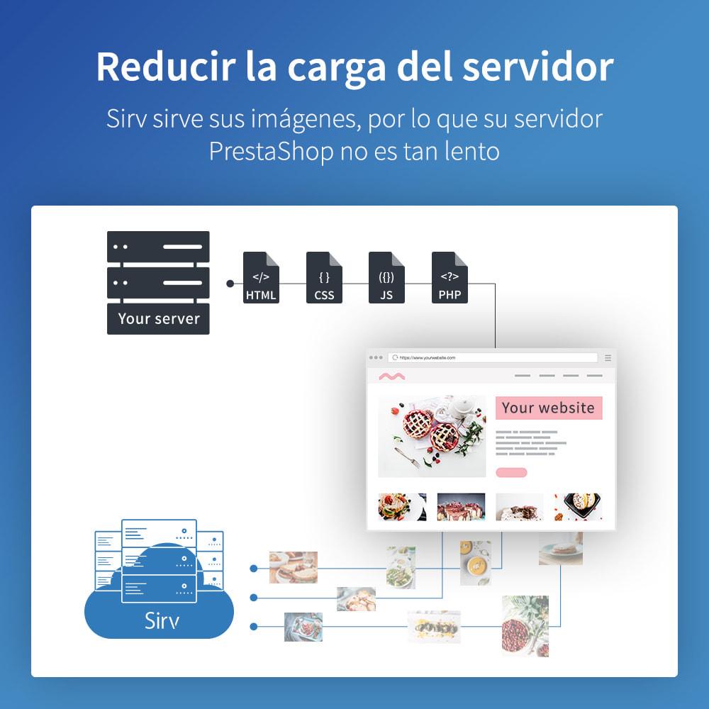 module - Rendimiento del sitio web - Sirv CDN y optimización: imágenes, video, giro 360 - 6