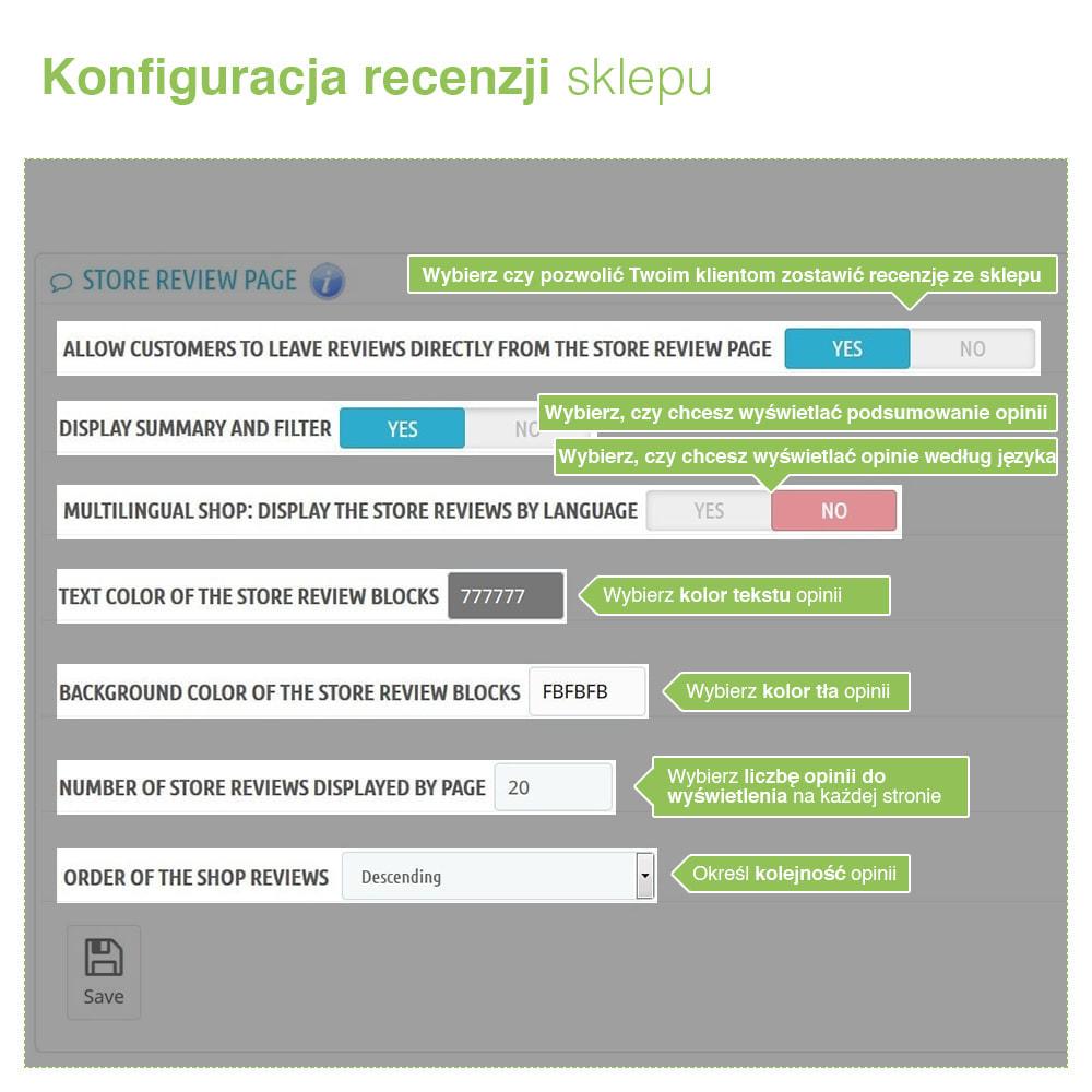 module - Opinie klientów - Reviews: Recenzje Sklepu i Produktów + Rich Snippets - 7