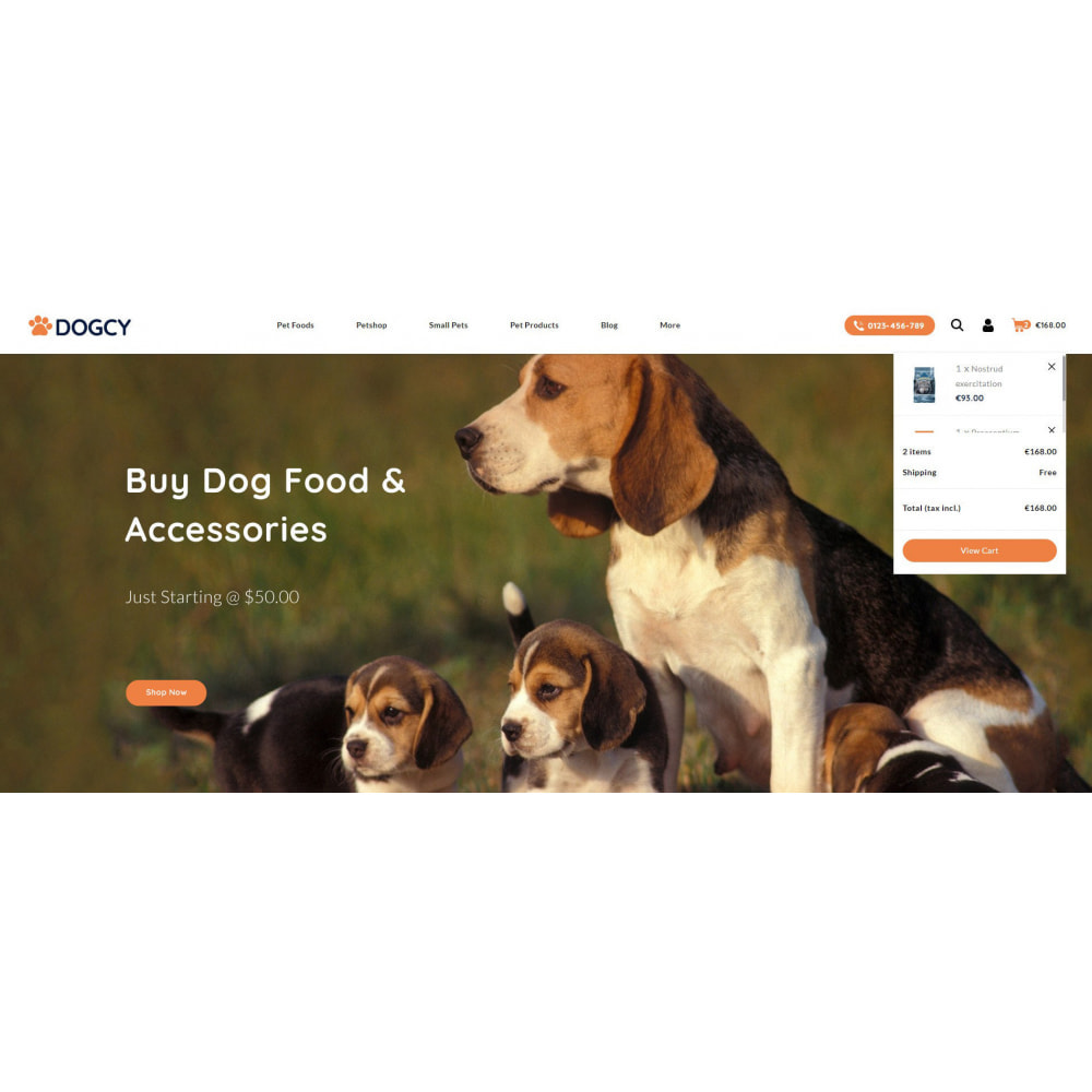 theme - Animais - Dogcy - Pet Food Store - 8