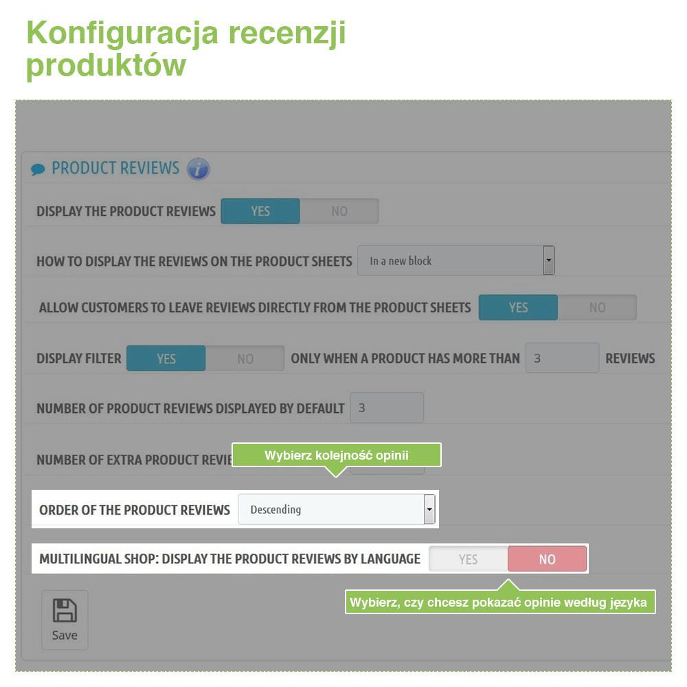 module - Opinie klientów - Reviews: Recenzje Sklepu i Produktów + Rich Snippets - 15