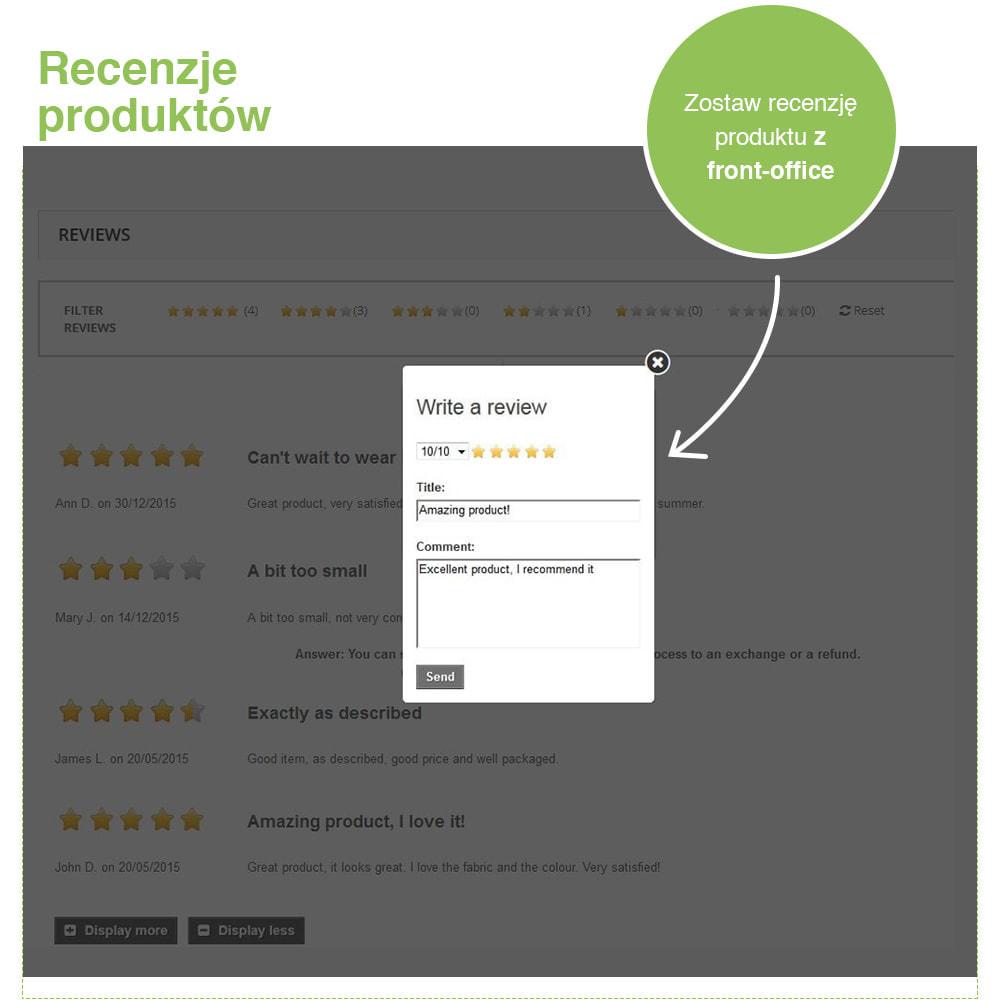 module - Opinie klientów - Reviews: Recenzje Sklepu i Produktów + Rich Snippets - 20