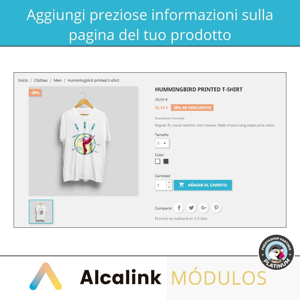 module - Visualizzazione Prodotti - Messaggio personalizzato per ogni produttore - 3