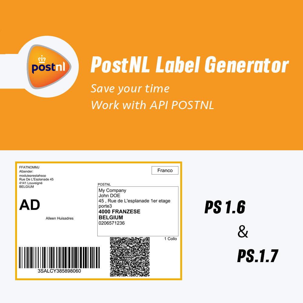 module - Przygotowanie & Wysyłka - PostNL Label Generator - 1