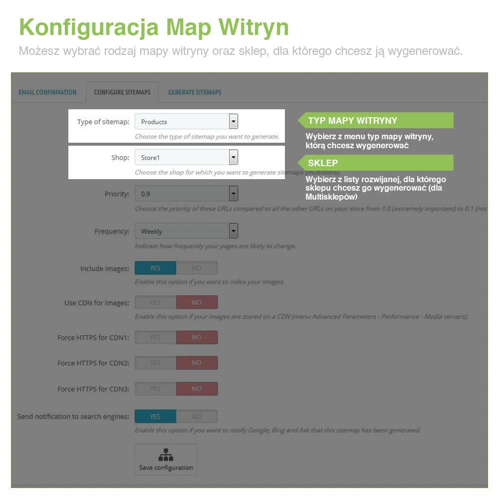 module - SEO (Pozycjonowanie naturalne) - Xml Sitemap PRO: Generator Mapy Witryn – SEO - 2