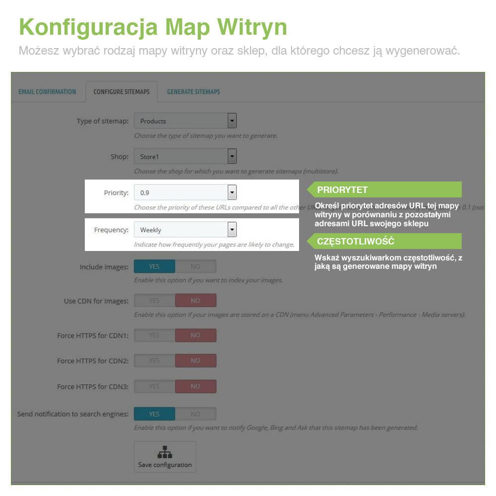 module - SEO (Pozycjonowanie naturalne) - Xml Sitemap PRO: Generator Mapy Witryn – SEO - 3