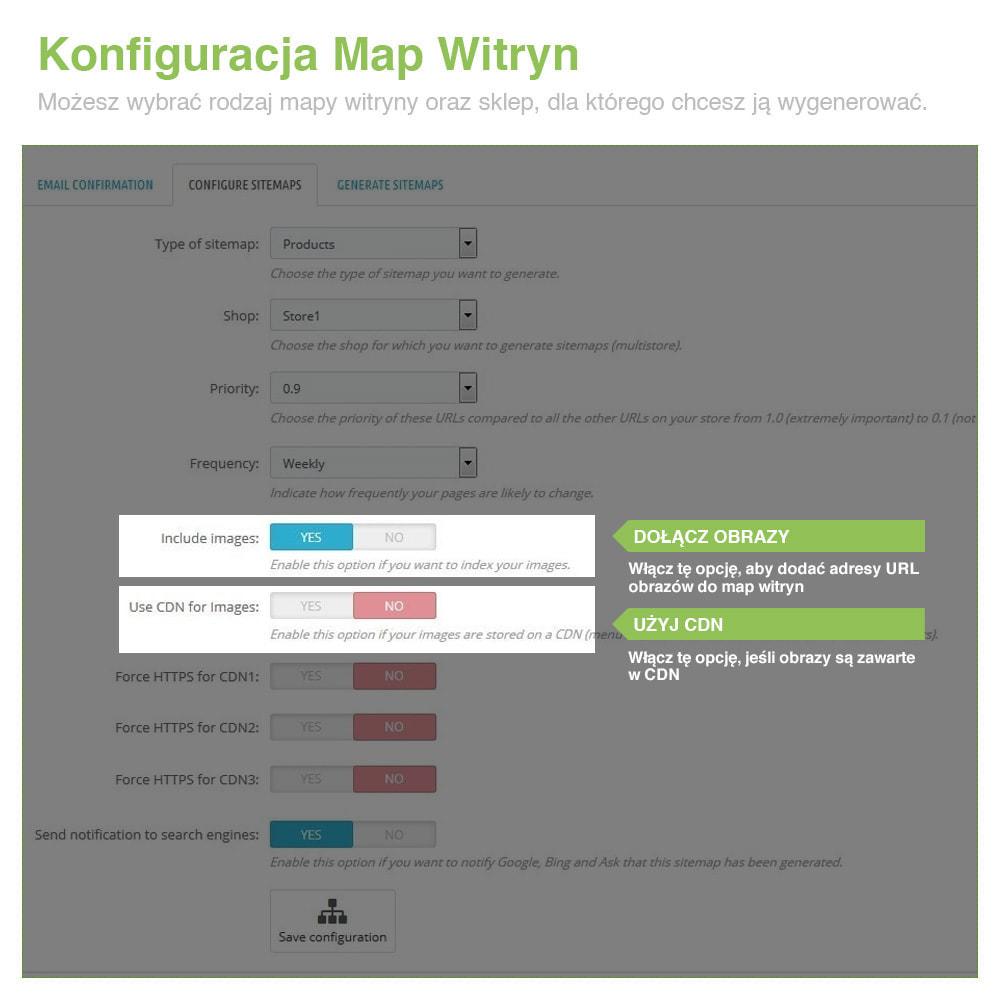 module - SEO (Pozycjonowanie naturalne) - Xml Sitemap PRO: Generator Mapy Witryn – SEO - 4