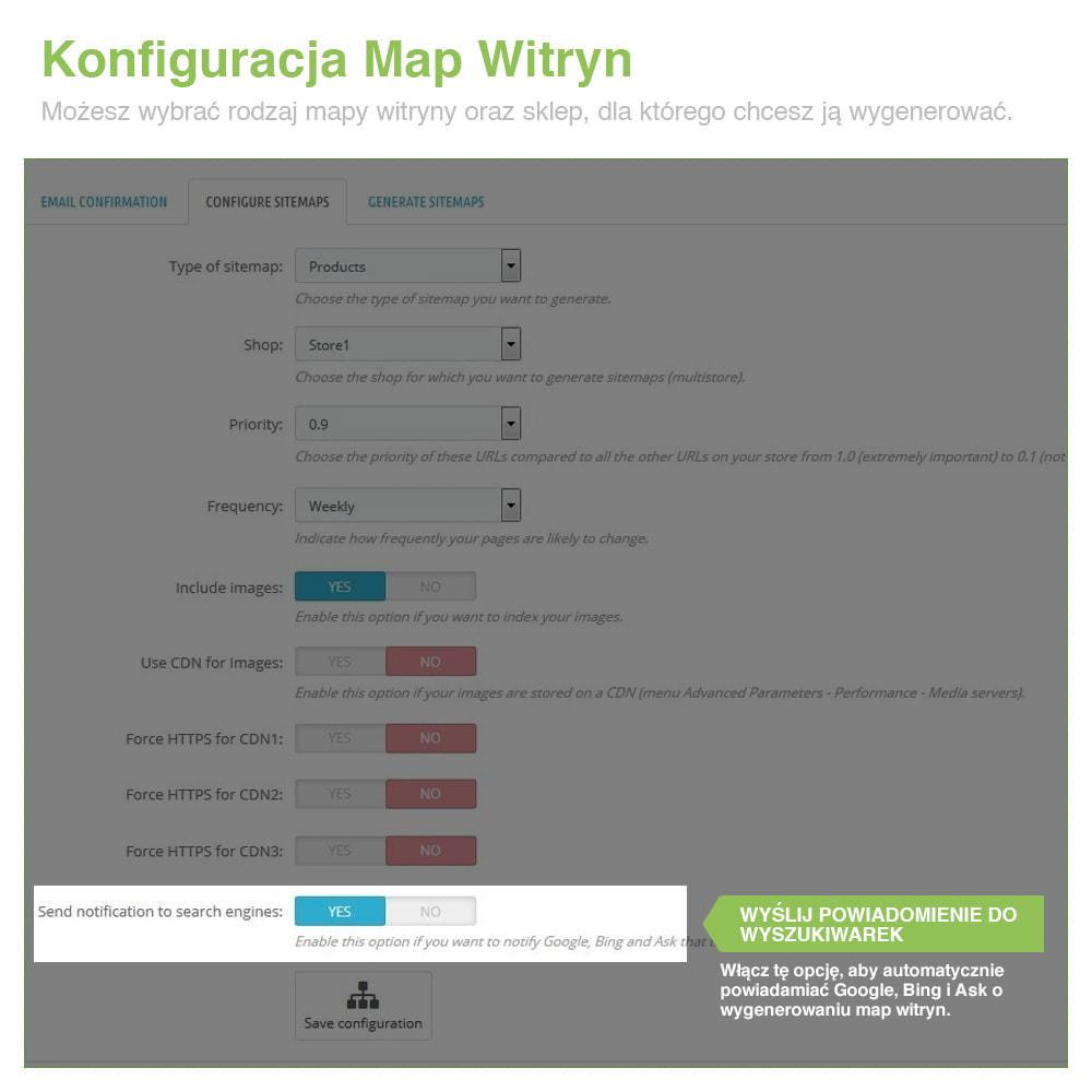 module - SEO (Pozycjonowanie naturalne) - Xml Sitemap PRO: Generator Mapy Witryn – SEO - 5