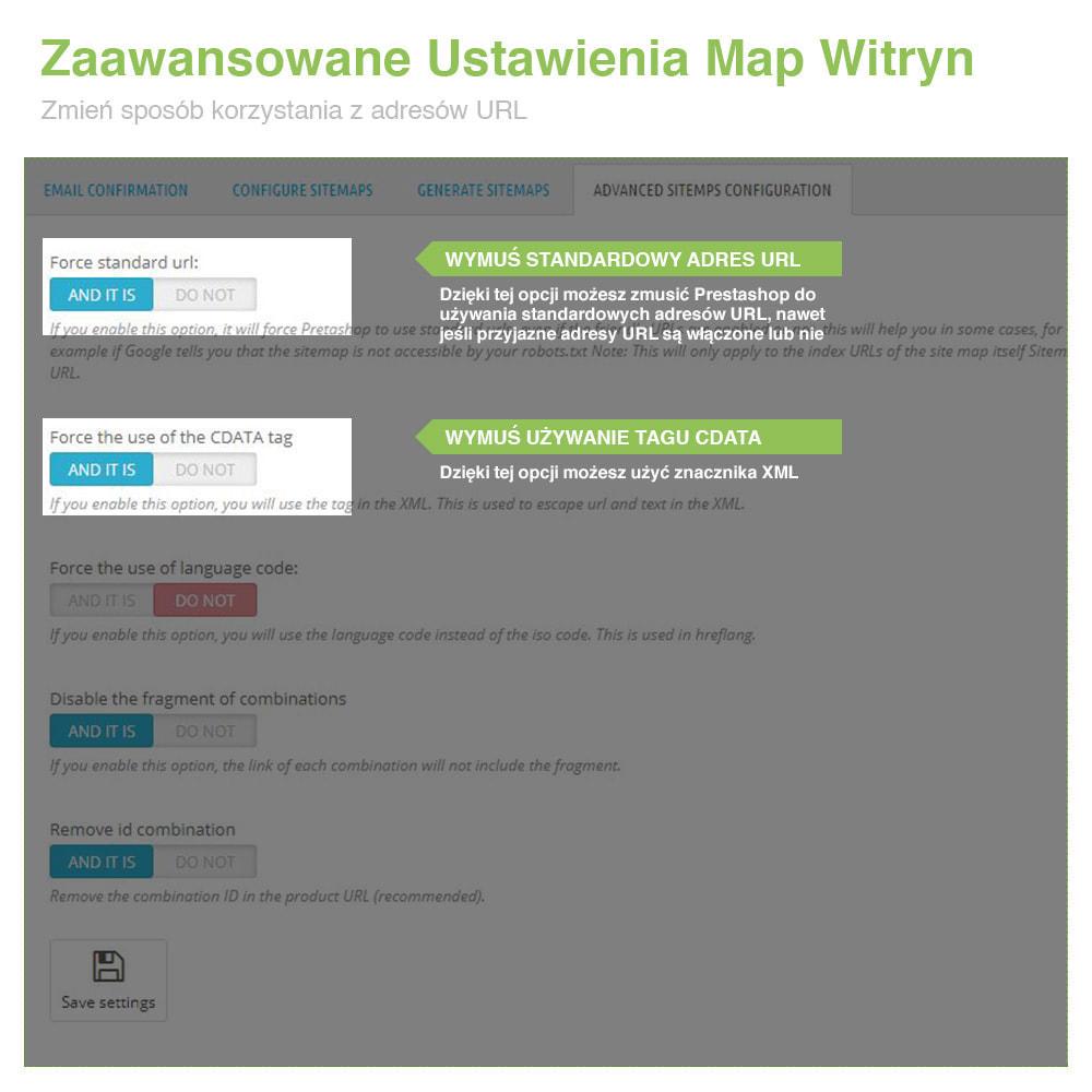module - SEO (Pozycjonowanie naturalne) - Mapa Witryny Wielojęzycznej i Multisklepowej PRO – SEO - 10