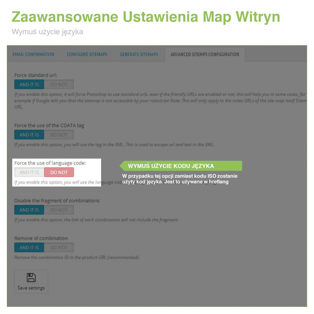 module - SEO (Pozycjonowanie naturalne) - Mapa Witryny Wielojęzycznej i Multisklepowej PRO – SEO - 11