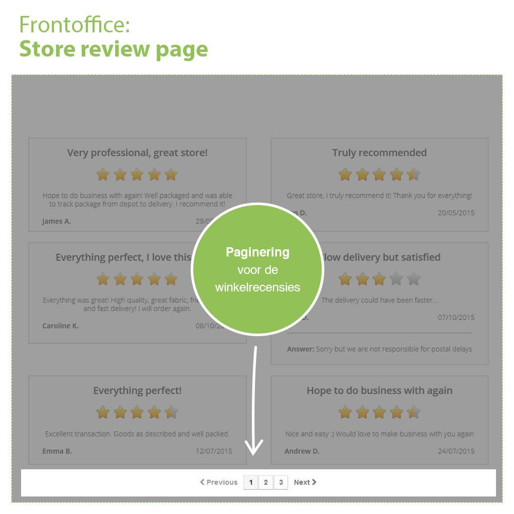 module - Klantbeoordelingen - Shop Recensies + Productbeoordelingen + Rich Snippets - 10