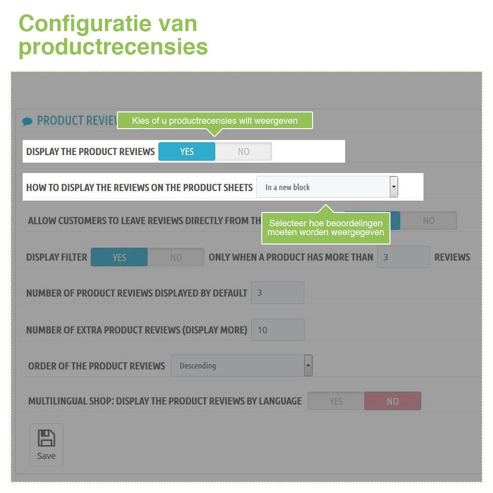 module - Klantbeoordelingen - Shop Recensies + Productbeoordelingen + Rich Snippets - 14