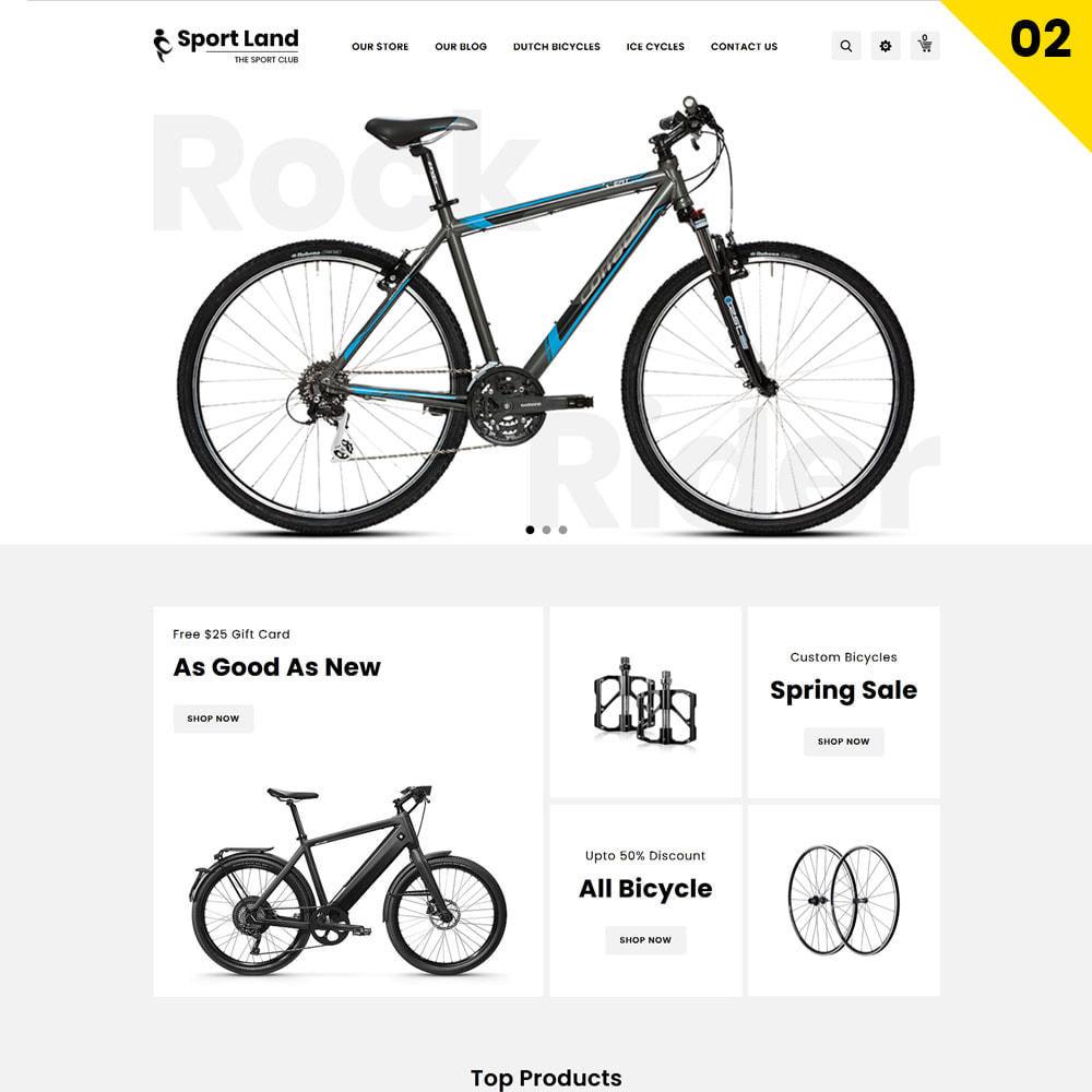 theme - Deportes, Actividades y Viajes - Sport Land - La tienda Mega Sport - 4