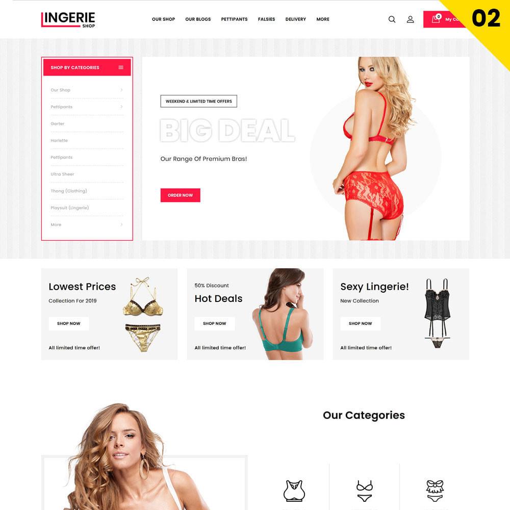 theme - Lingerie & Adulti - Lingerie Shop Il negozio di abbigliamento intimo - 4
