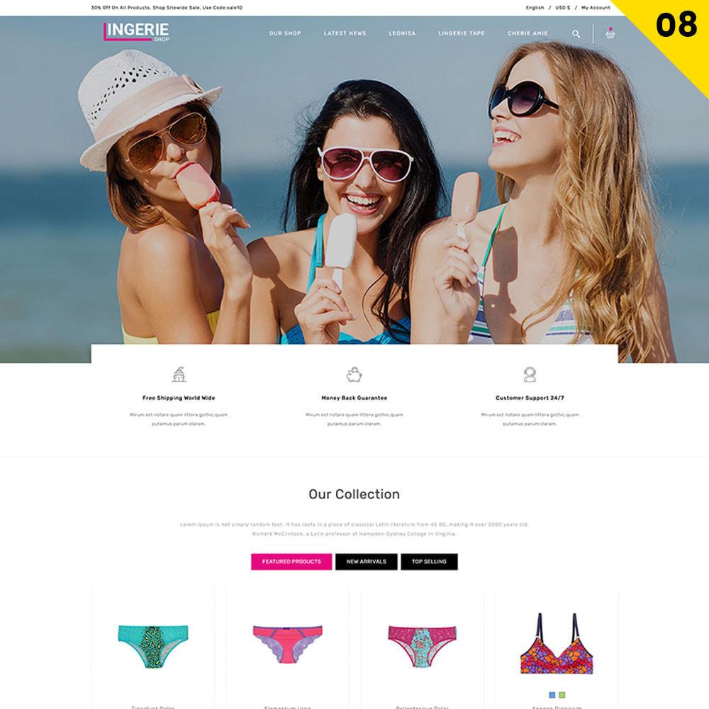 theme - Lingerie & Adulti - Lingerie Shop Il negozio di abbigliamento intimo - 10