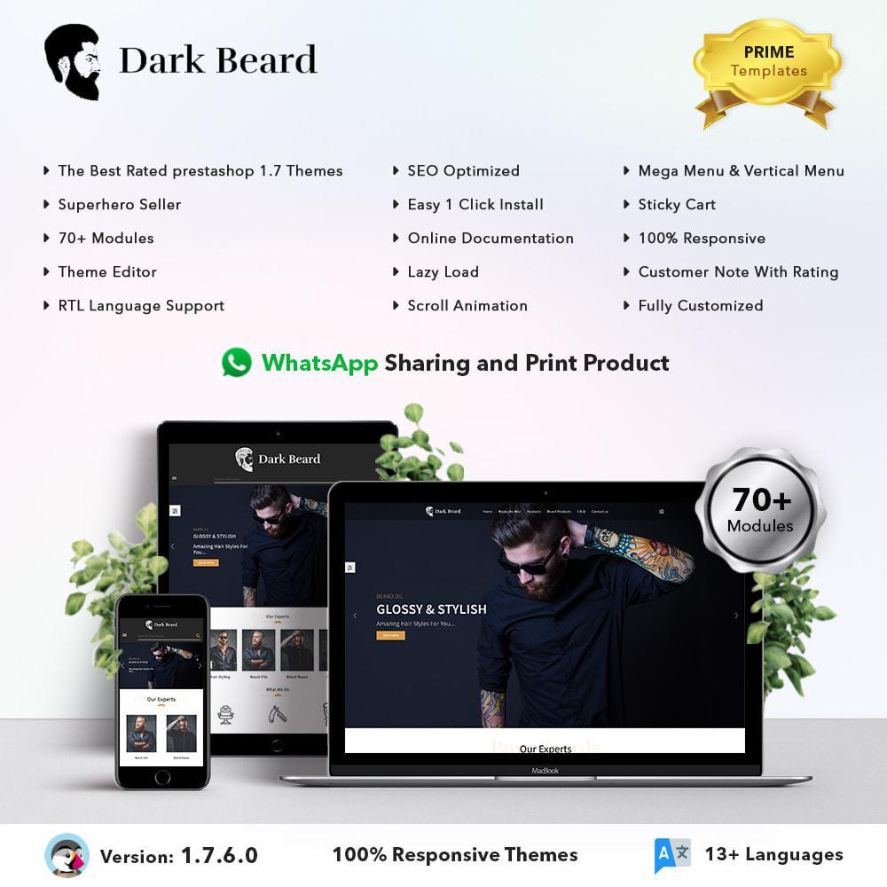 theme - Moda & Obuwie - Dark Beard stores - 1