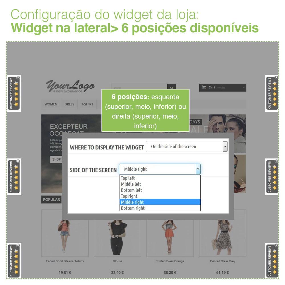 module - Opiniões de clientes - Opiniões de loja + produto  Opiniões + Snippets - 6
