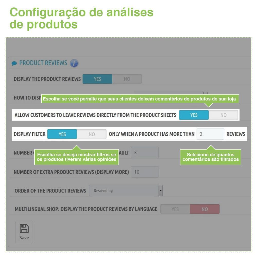 module - Opiniões de clientes - Opiniões de loja + produto  Opiniões + Snippets - 13