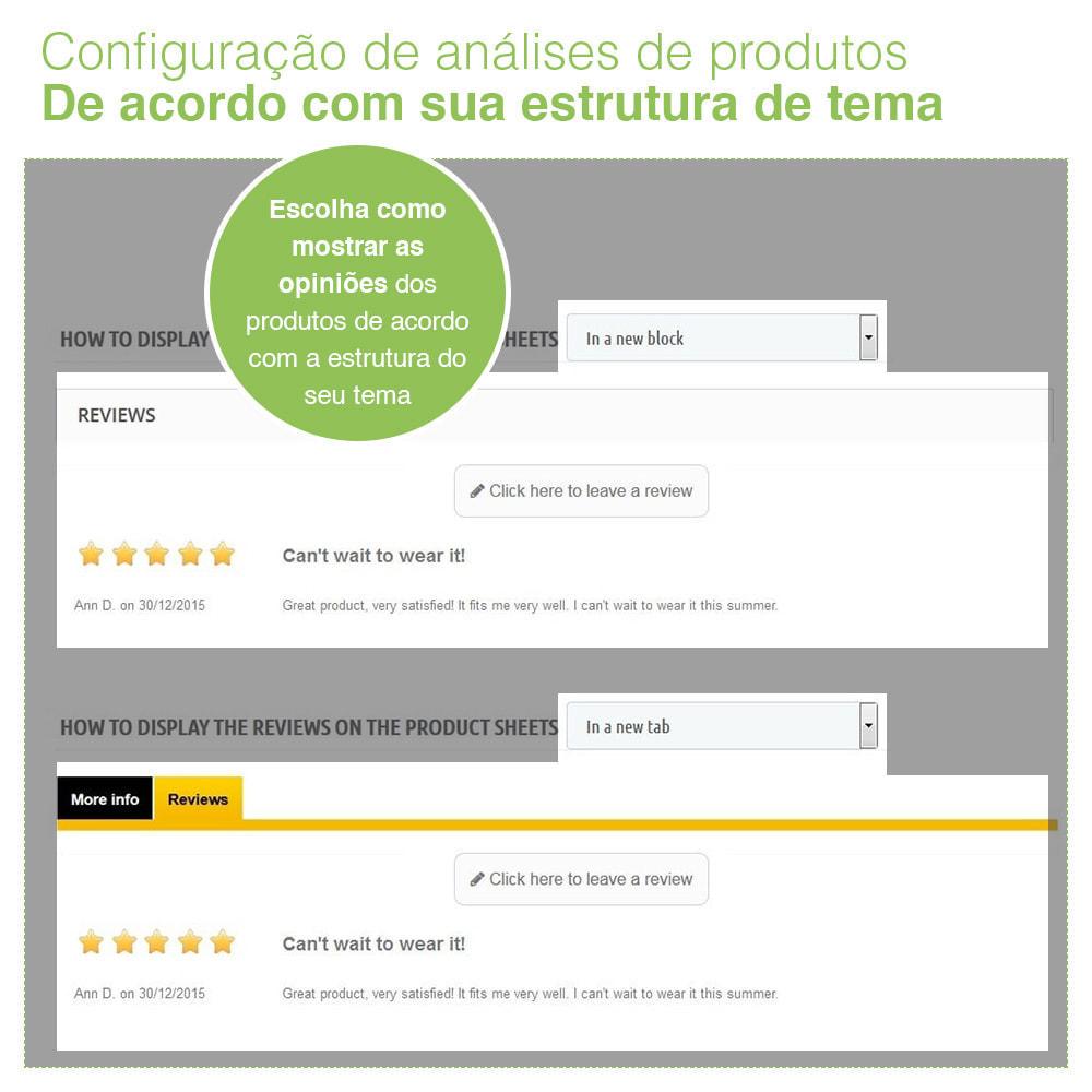 module - Opiniões de clientes - Opiniões de loja + produto  Opiniões + Snippets - 16
