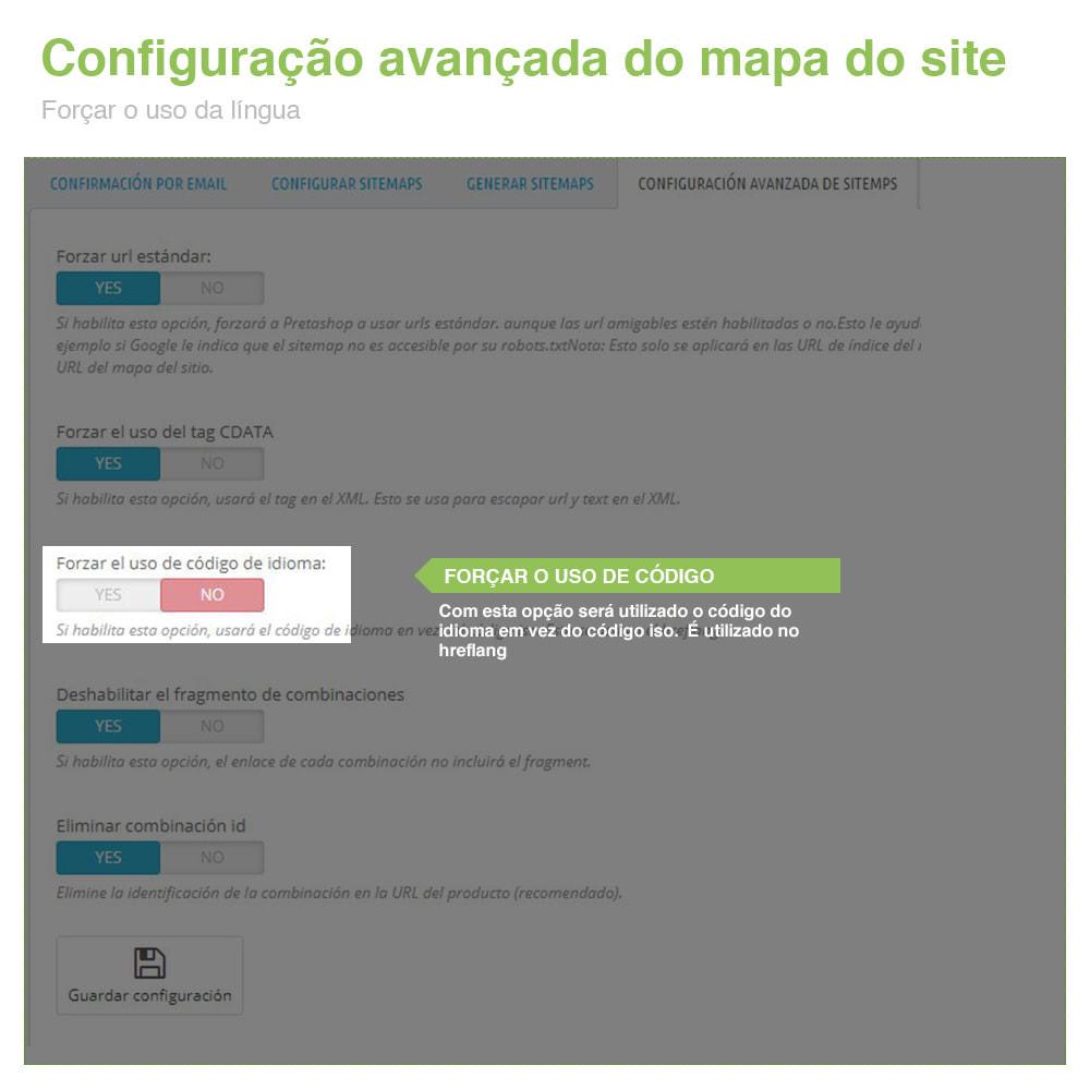 module - SEO (Referenciamento natural) - Sitemaps Pro Multi-Idiomas e Multi-Lojas – SEO - 11