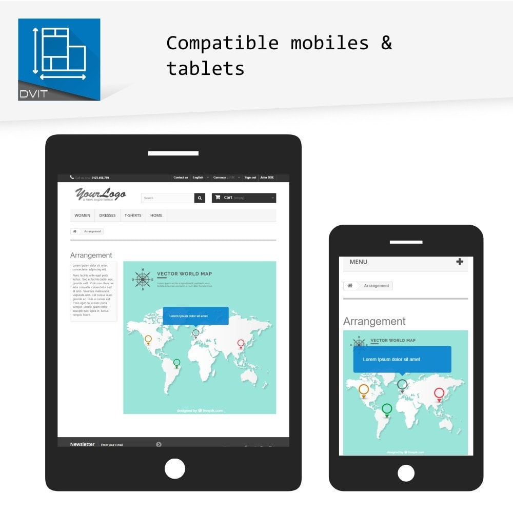 module - Personalización de la página - Puesta en escena de productos - 5