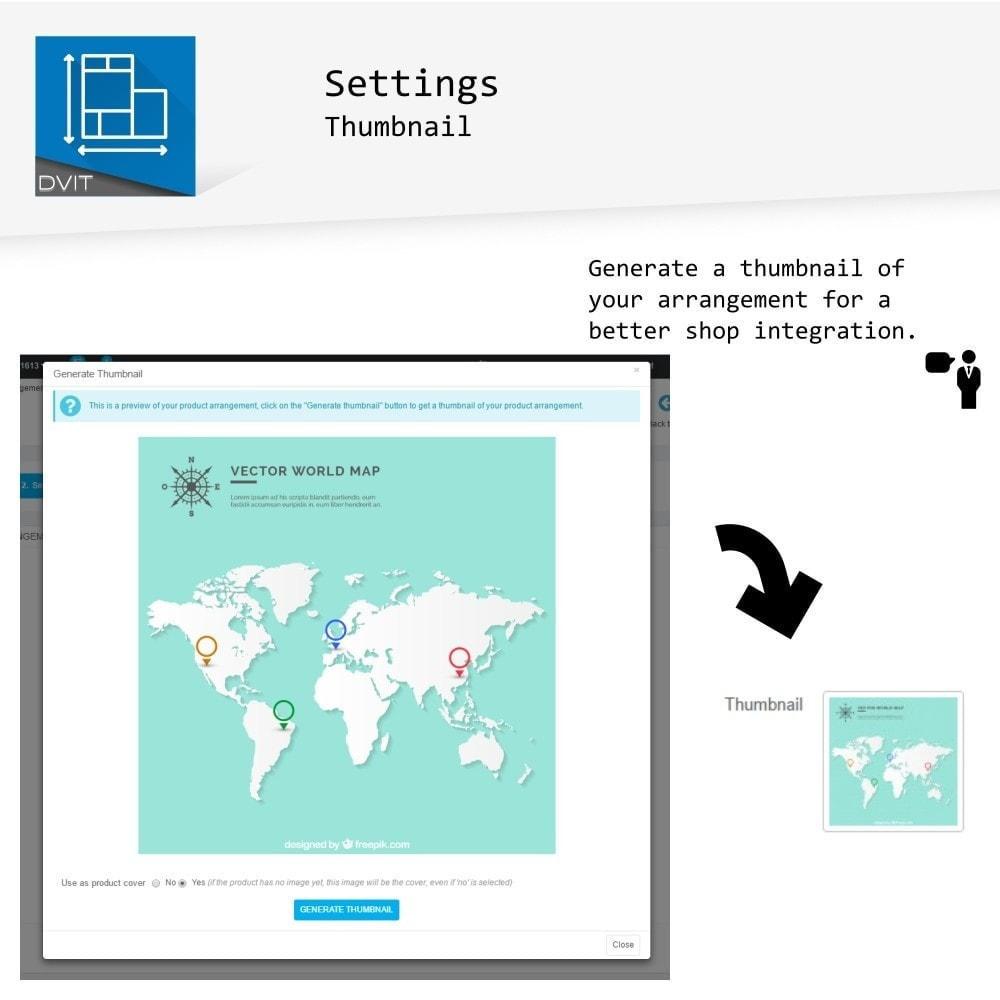 module - Personalización de la página - Puesta en escena de productos - 12
