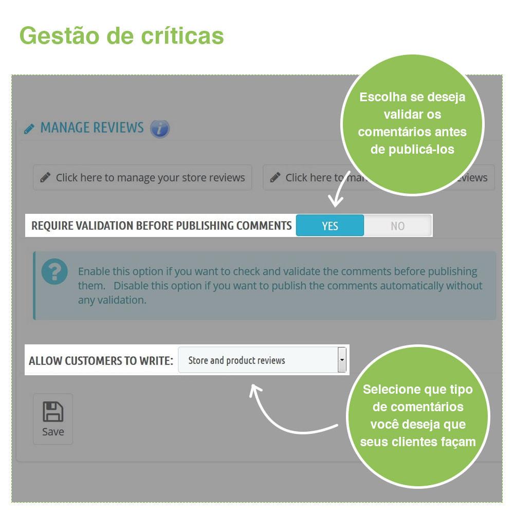 module - Opiniões de clientes - Opiniões de loja + produto  Opiniões + Snippets - 33